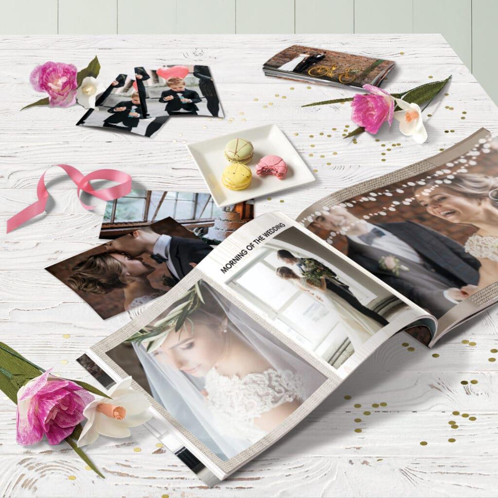 mini photo books make perfect wedding thank you gifts